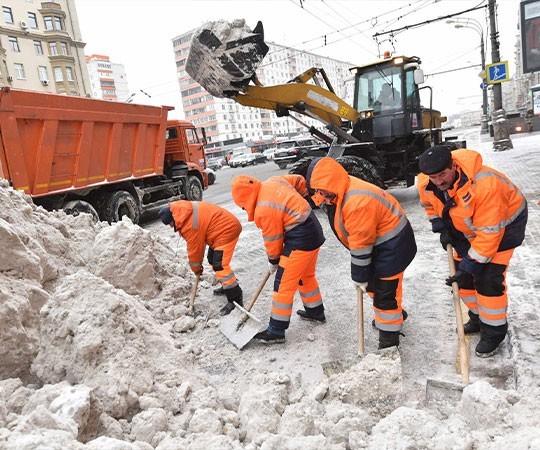 Уборка снега в Тольятти и Самарской области