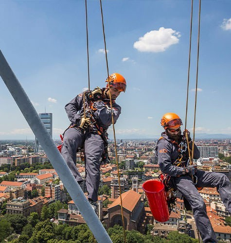 Услуги промышленного альпинизма в Тольятти