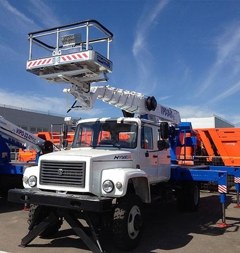 Возможности машины с подъемником-люлькой в Тольятти